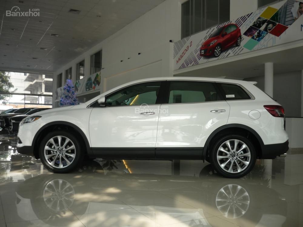 Bán xe Mazda Tây Ninh bán xe CX9 mới 2015, màu trắng, xe nhập từ Nhật, giá tốt nhất-1