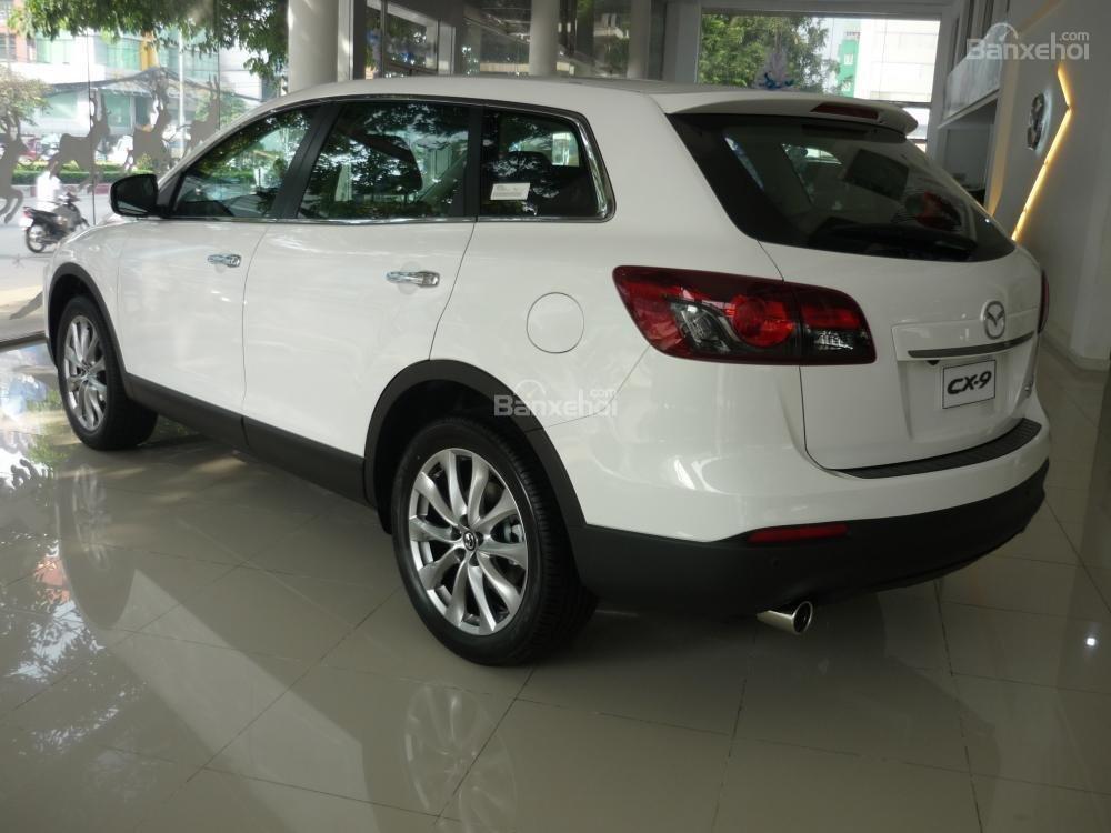 Bán xe Mazda Tây Ninh bán xe CX9 mới 2015, màu trắng, xe nhập từ Nhật, giá tốt nhất-2