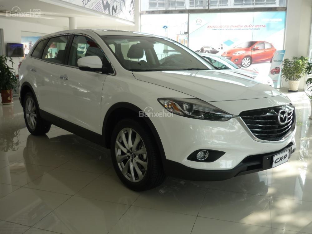 Bán xe Mazda Tây Ninh bán xe CX9 mới 2015, màu trắng, xe nhập từ Nhật, giá tốt nhất-3