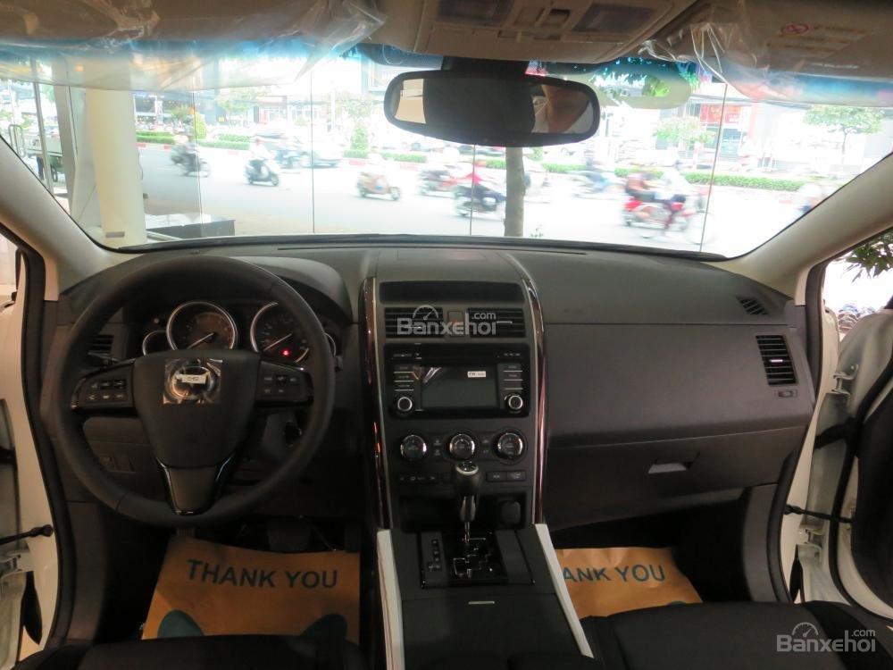 Bán xe Mazda Tây Ninh bán xe CX9 mới 2015, màu trắng, xe nhập từ Nhật, giá tốt nhất-7
