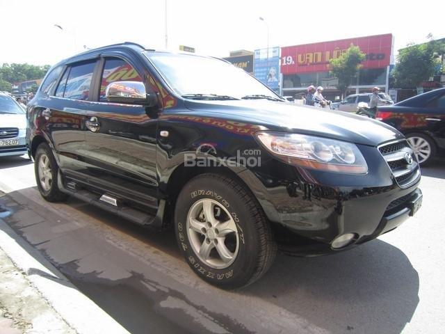 Cần bán Hyundai Santa Fe 4x4 2008, màu đen, nhập khẩu Hàn Quốc còn mới, giá chỉ 575 triệu-0
