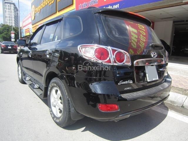 Cần bán Hyundai Santa Fe 4x4 2008, màu đen, nhập khẩu Hàn Quốc còn mới, giá chỉ 575 triệu-1