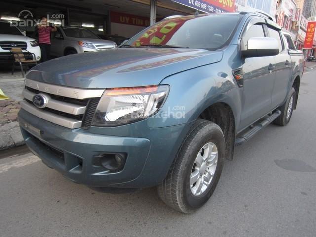 Bán Ford Ranger MT đời 2014, màu xanh ngọc, nhập khẩu Thái, giá tốt-2