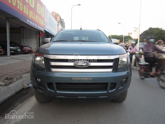 Bán Ford Ranger MT đời 2014, màu xanh ngọc, nhập khẩu Thái, giá tốt-0