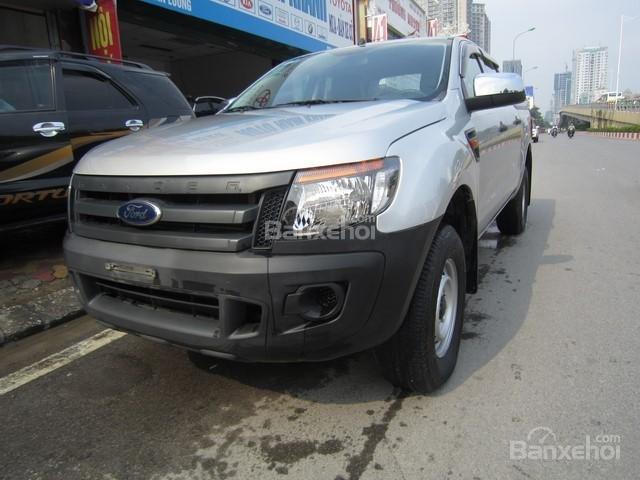 Cần bán xe Ford Ranger 4x4 MT đời 2014, màu bạc, nhập khẩu Thái, giá 555tr-1