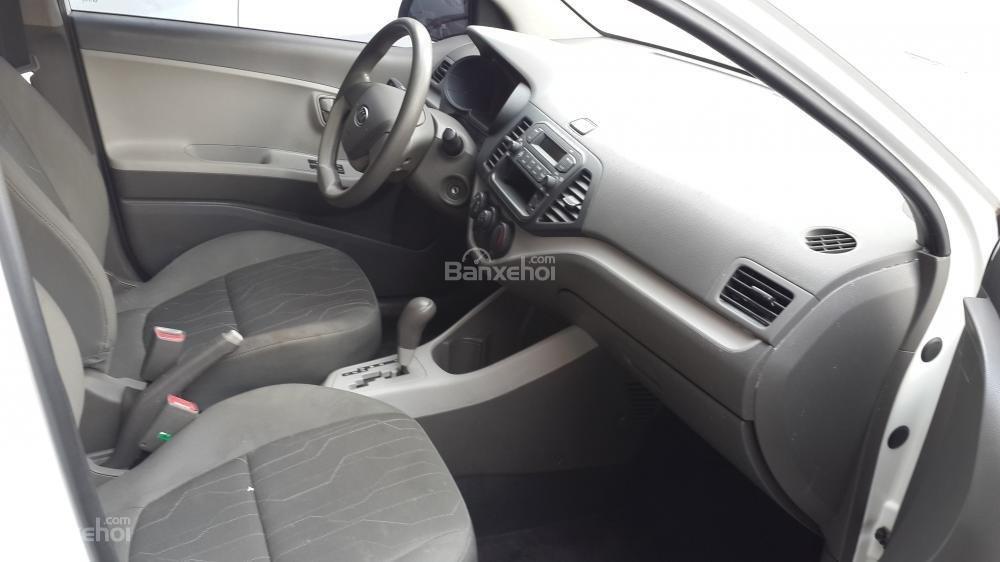 Kia Morning Van màu trắng số tự động sản xuất 2012 -1