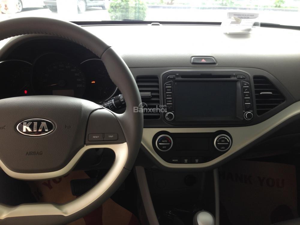 Cần bán xe Kia Morning Si 2015, màu nâu, 421tr, hỗ trợ trả góp 70%-1