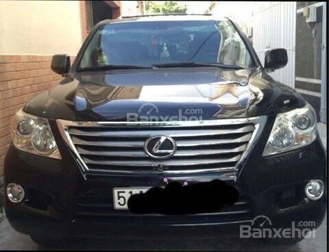 Cần bán Lexus LX đời 2008, màu đen, nhập khẩu chính hãng-0