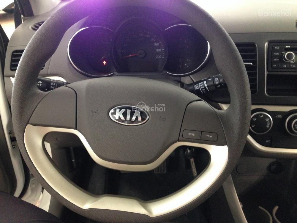 Cần bán xe Kia Morning EXMT đời 2015, màu trắng giá cạnh tranh, hỗ trả góp 70% -2