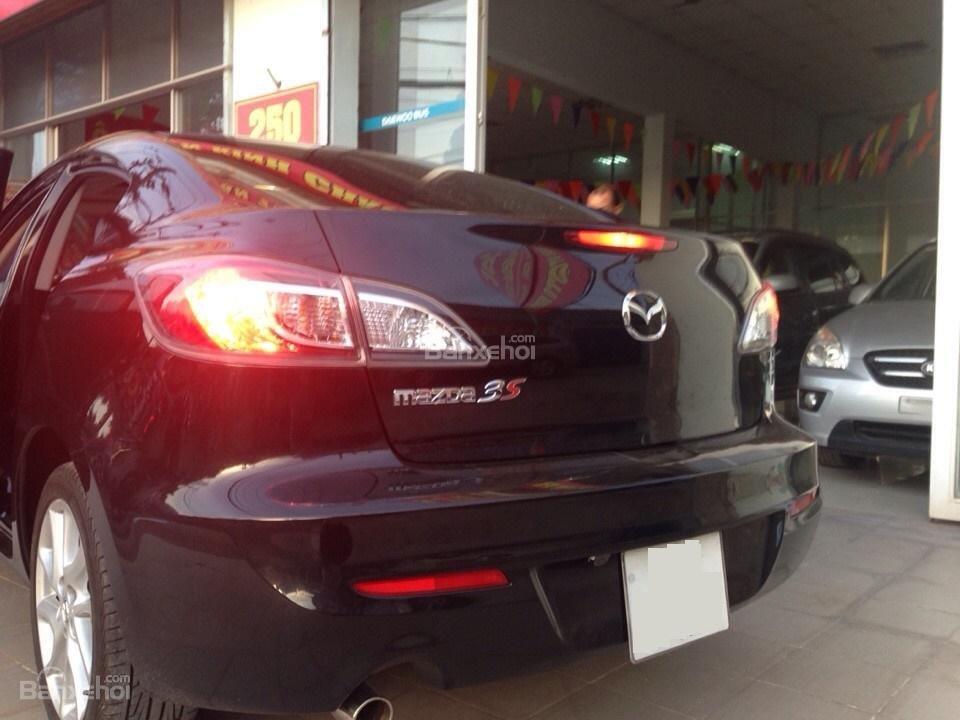 Cần bán xe Mazda 3 đời 2014, màu đen, 690tr-4