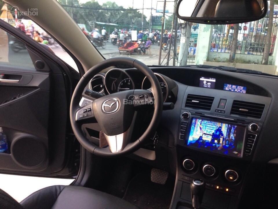 Cần bán xe Mazda 3 đời 2014, màu đen, 690tr-8