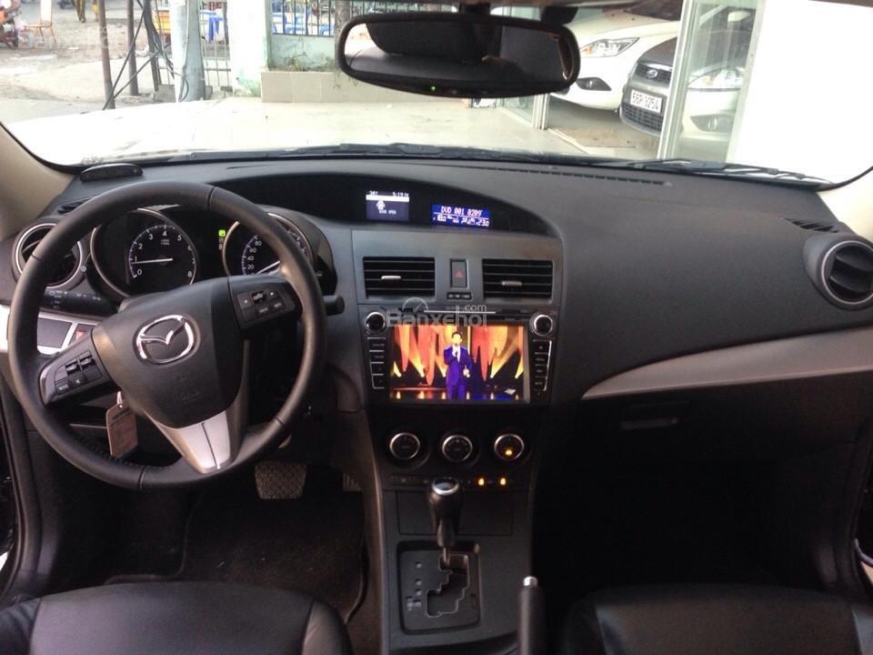Cần bán xe Mazda 3 đời 2014, màu đen, 690tr-10