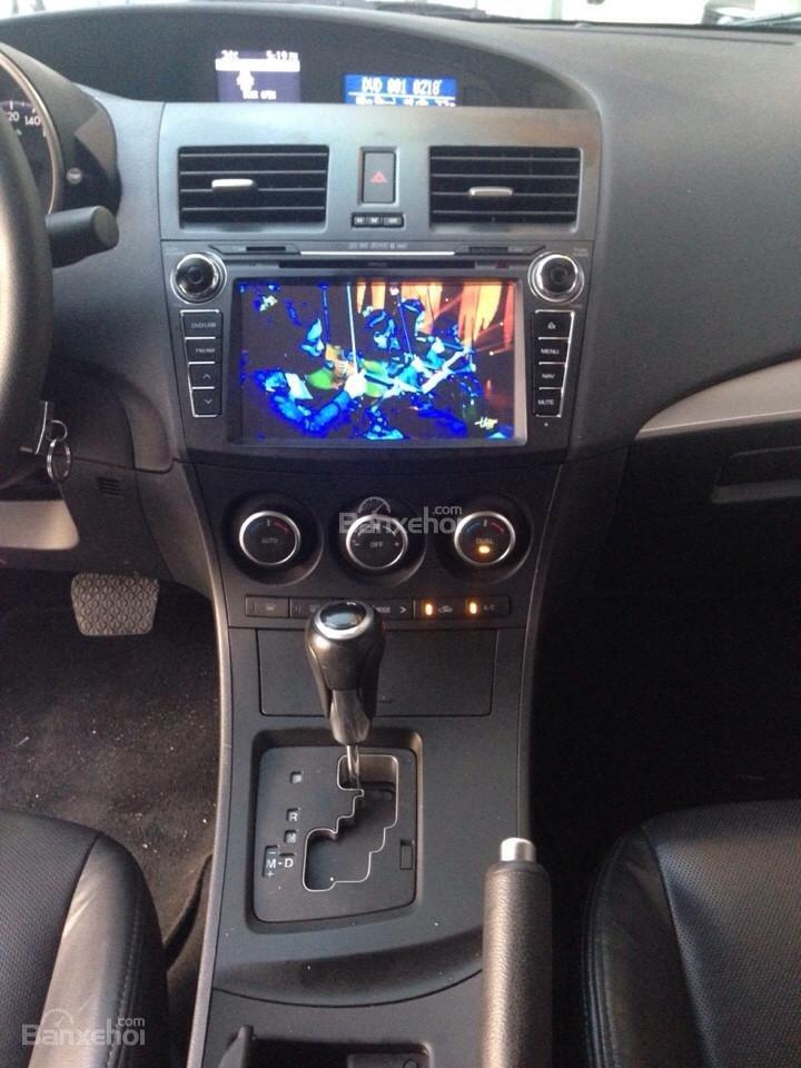 Cần bán xe Mazda 3 đời 2014, màu đen, 690tr-9