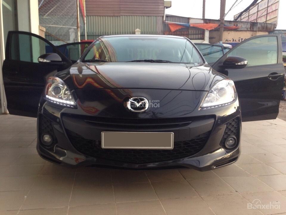 Cần bán xe Mazda 3 đời 2014, màu đen, 690tr-11
