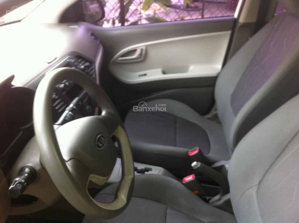 Cần bán Kia Morning Van 2013, màu xám, xe nhập-4
