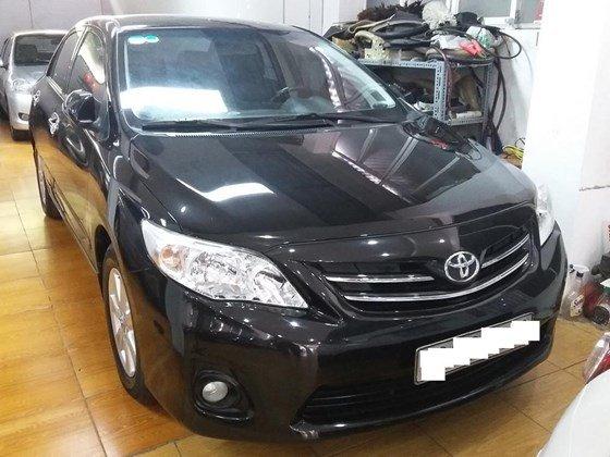 Bán ô tô Toyota Corolla Altis 1.8E 2010, màu đen, nhập khẩu nguyên chiếc  -0