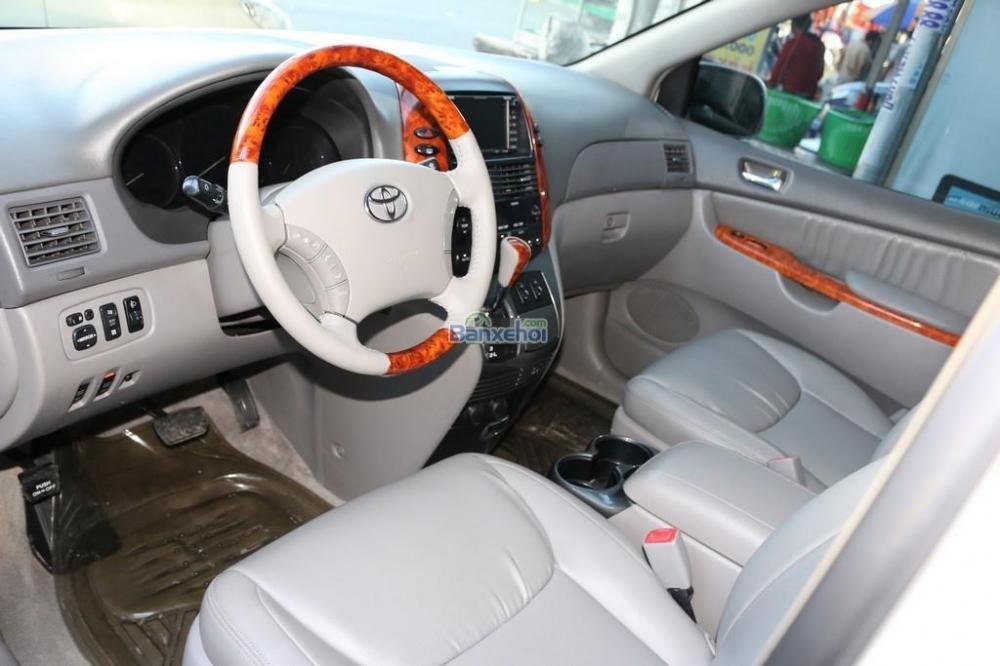 Toyota Sienna XLE-Limited-7-Passenger đời 2006, màu trắng, nhập khẩu-6