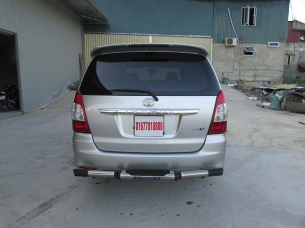 Cần bán xe Toyota Innova - cũ trong nước sản xuất 2012, màu bạc xe còn rất đẹp-2