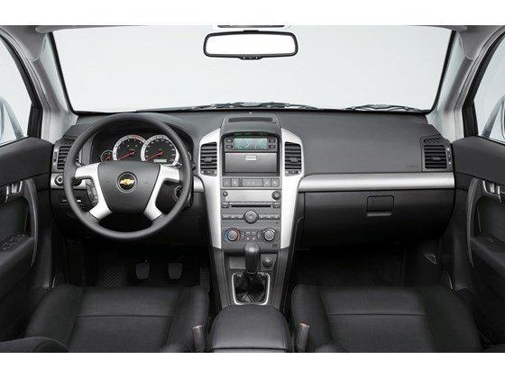 Chevrolet Captiva năm 2007, màu đen, nhập khẩu chính hãng-4