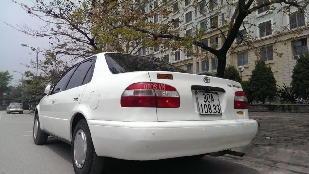 Toyota Corolla đời 2001, màu trắng, giá chỉ 230 triệu-5