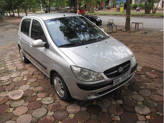 Bán Hyundai Getz sản xuất 2008, màu bạc, nhập khẩu, chính chủ-0