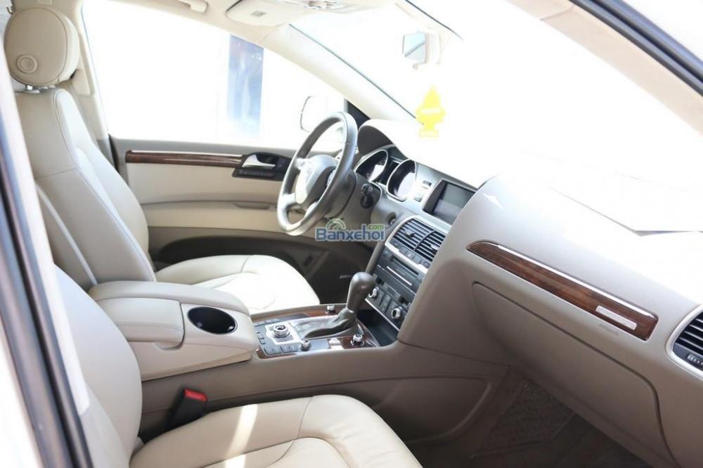 Cần bán xe Audi Q7 3-6L-Sline sản xuất 2010, màu trắng, xe nhập-4