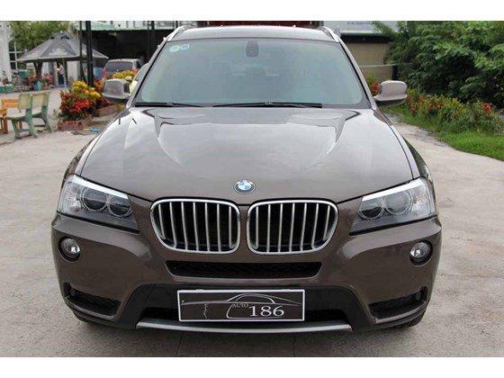 Cần bán BMW X3 năm 2012, màu nâu, xe nhập, số tự động-25
