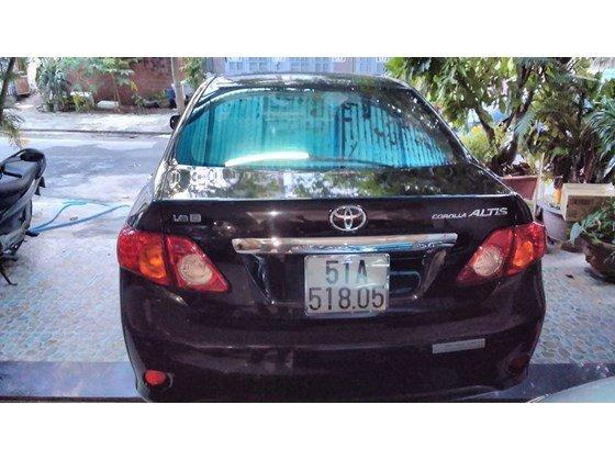 Xe Toyota Altis số tự động màu đen SX năm 2010 mới chạy đúng 41000 km-3