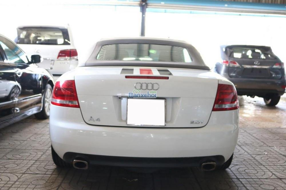 Cần bán xe Audi A4 2-0L-Turbo đời 2008, màu trắng, nhập khẩu nguyên chiếc, 920tr-4