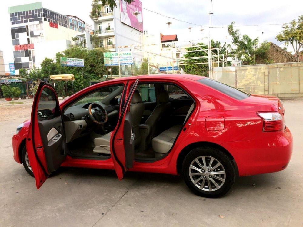 Cần bán Vios số tự động SX cuối 2012 màu đỏ, xe gia đình sử dụng kĩ-2
