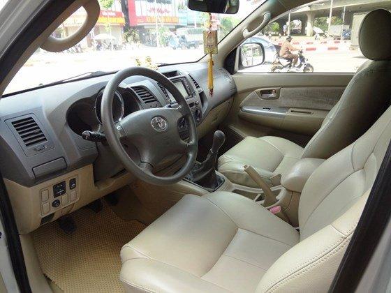 Bán xe Fortuner G, sản xuất 2010, và đăng ký 2011 máy dầu số sàn, màu bạc, tên cá nhân một chủ từ đầu-2