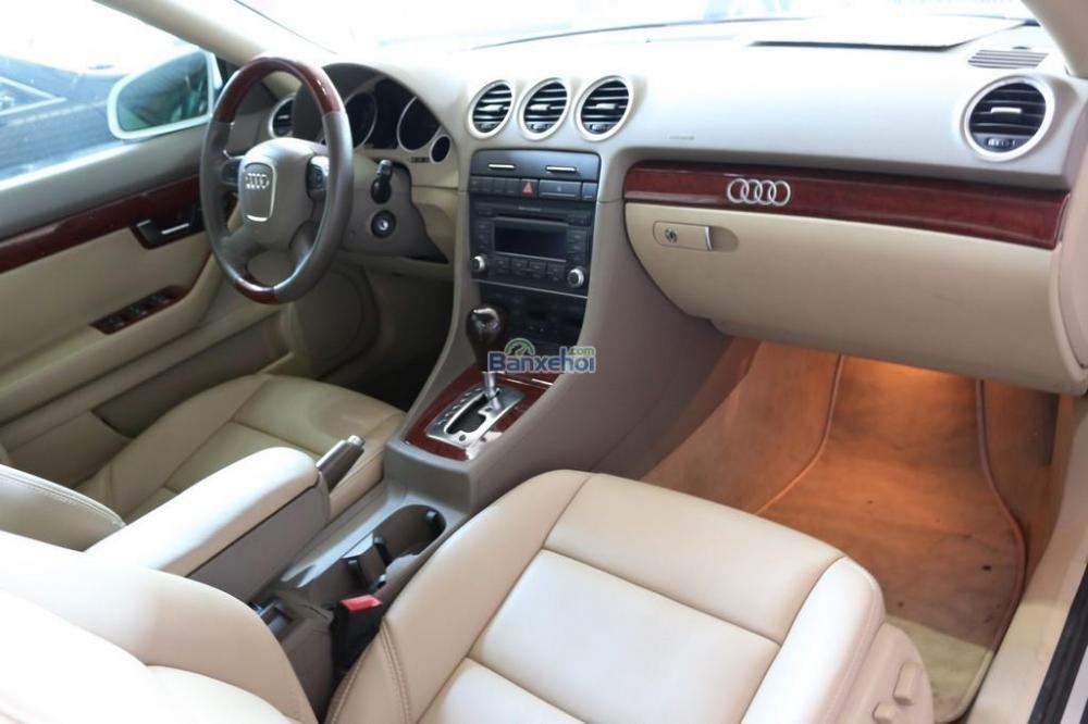 Cần bán xe Audi A4 2-0L-Turbo đời 2008, màu trắng, nhập khẩu nguyên chiếc, 920tr-8
