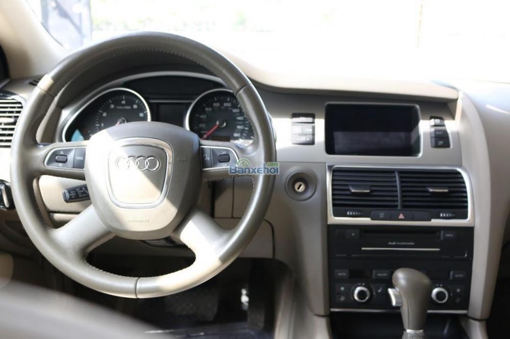 Cần bán xe Audi Q7 3-6L-Sline sản xuất 2010, màu trắng, xe nhập-8