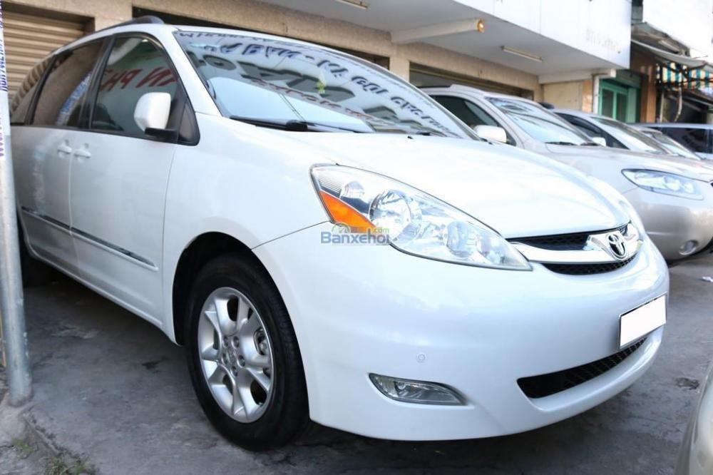 Toyota Sienna XLE-Limited-7-Passenger đời 2006, màu trắng, nhập khẩu-2