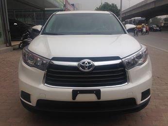 Toyota Highlander LE màu trắng sản xuất 2014, model 2015, xe mới 100%-1