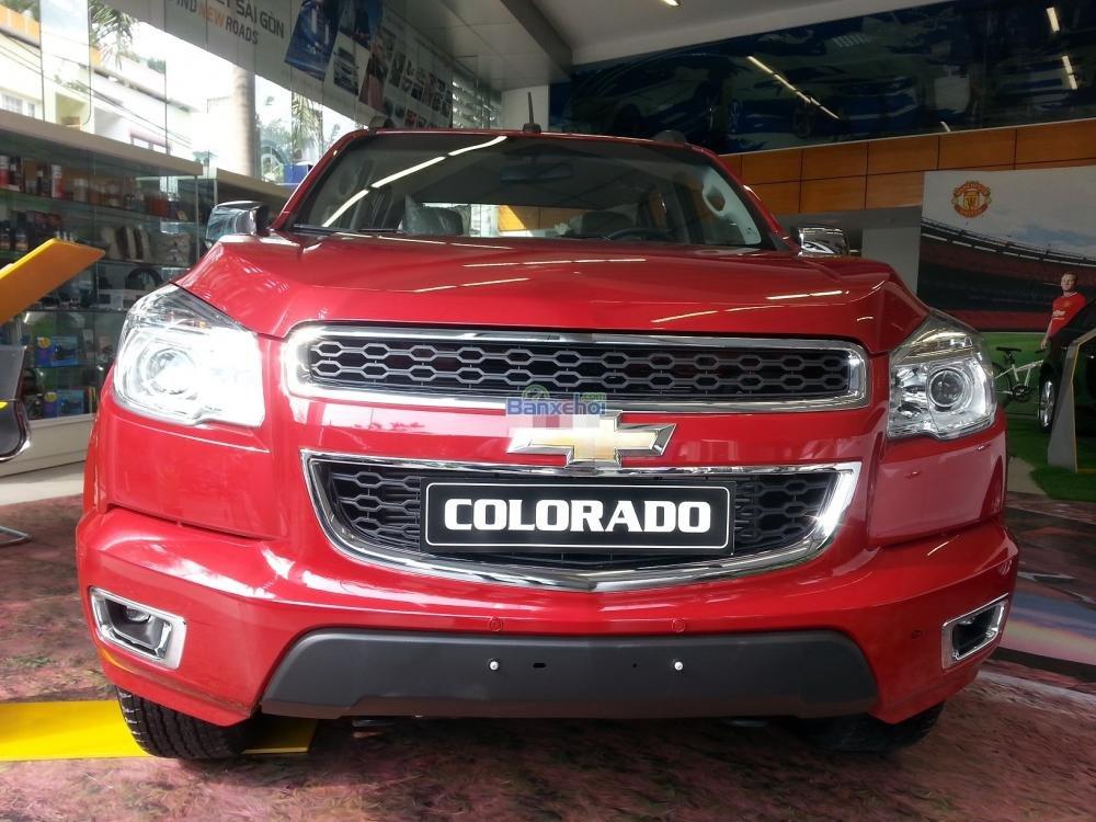 Chevrolet Colorado sản xuất 2015, nhập khẩu chính hãng, 749tr cần bán-9
