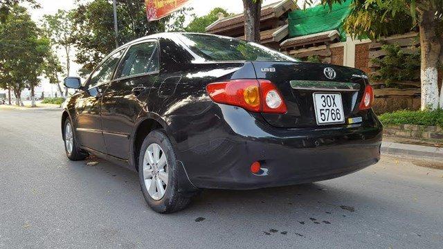 Bán Corolla Altis 1.8G mầu đen, số tự động chính chủ tư nhân từ đầu công chức sử dụng đầu 2011, SX2010-3