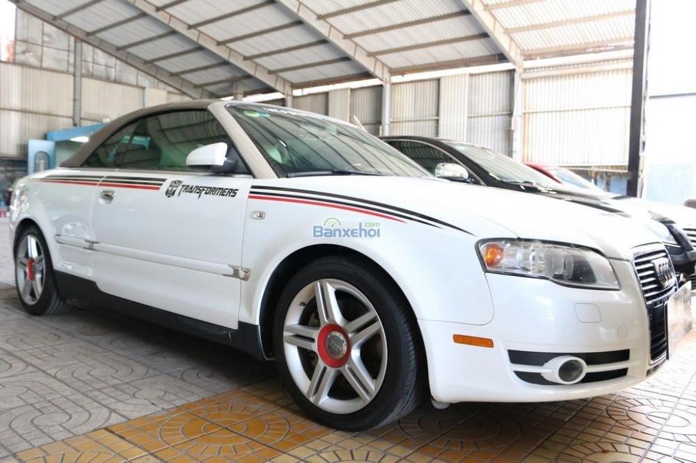 Cần bán xe Audi A4 2-0L-Turbo đời 2008, màu trắng, nhập khẩu nguyên chiếc, 920tr-2