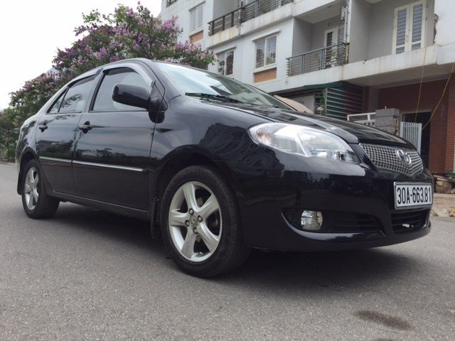 Chính chủ bán Toyota Vios đời 2007, màu đen-2