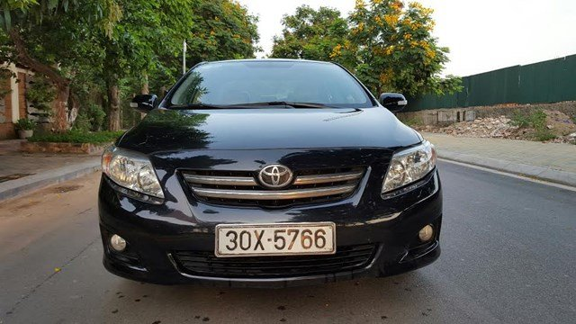 Bán Corolla Altis 1.8G mầu đen, số tự động chính chủ tư nhân từ đầu công chức sử dụng đầu 2011, SX2010-0