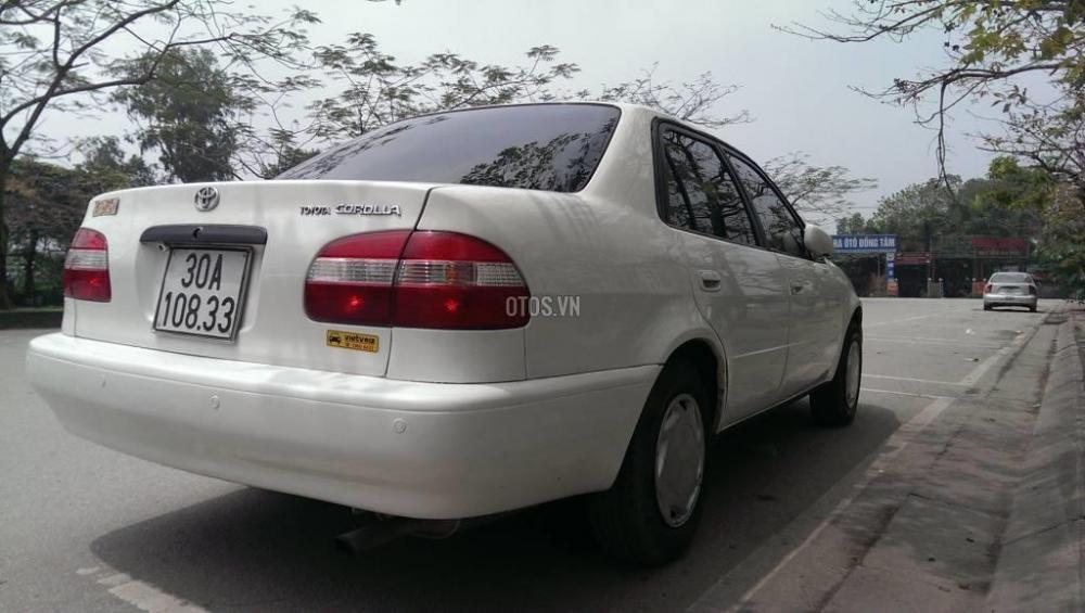 Toyota Corolla đời 2001, màu trắng, giá chỉ 230 triệu-6