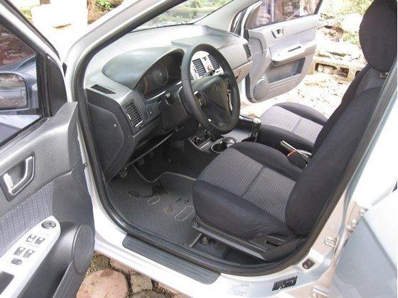 Bán Hyundai Getz sản xuất 2008, màu bạc, nhập khẩu, chính chủ-3