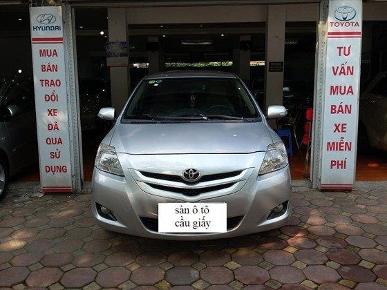 Toyota Vios 1.5 sản xuất 2008 màu bạc, số sàn, nội thất da màu kem-0
