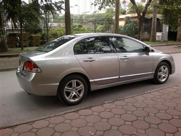 Cần bán lại xe Honda Civic 2.0AT đời 2009, màu xám, chính chủ-1