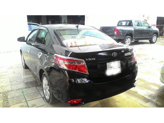 Mình cần bán xe Vios E 2014, màu đen, số sàn, xe trang bị đầy đủ ghế da, dán kính, trải sàn-7