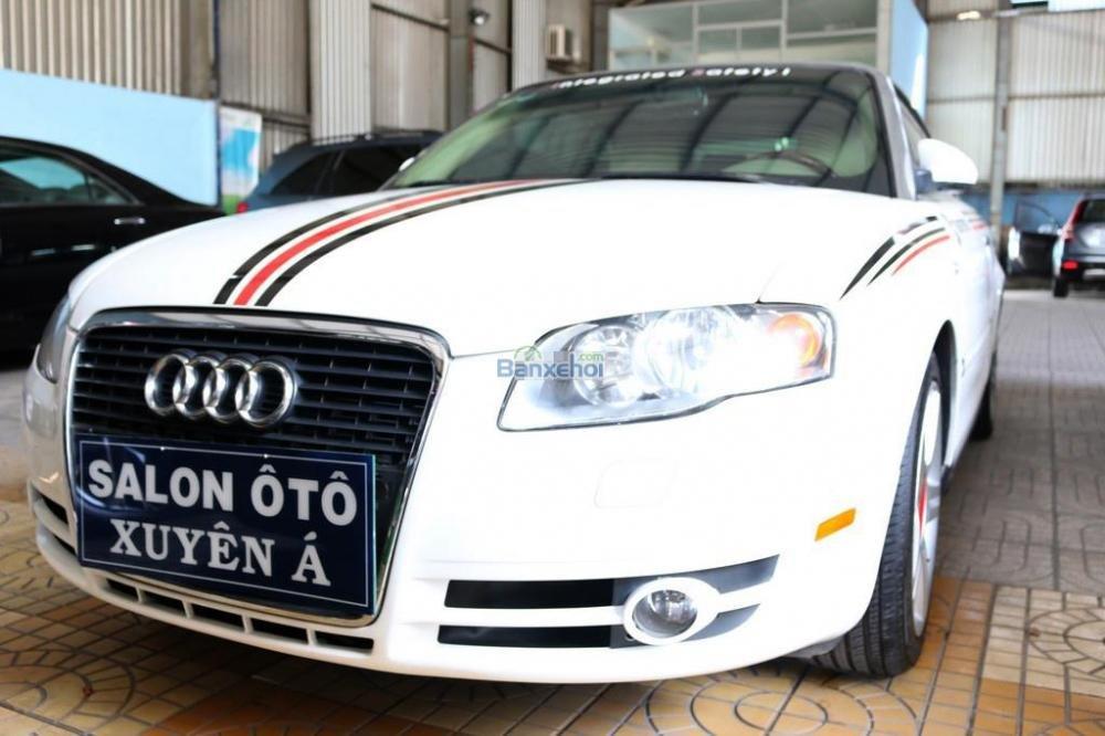 Cần bán xe Audi A4 2-0L-Turbo đời 2008, màu trắng, nhập khẩu nguyên chiếc, 920tr-1