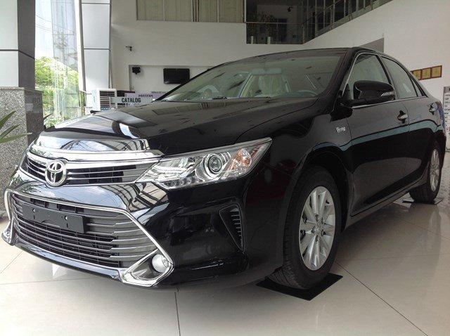 Bán xe Toyota Camry đời 2015, màu đen, nhập khẩu chính hãng nhanh tay liên hệ-2