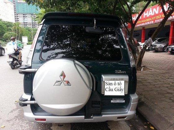 Cần bán gấp Mitsubishi Jolie đời 2005, màu xanh, xe nhập, số sàn-4
