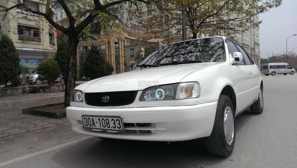 Toyota Corolla đời 2001, màu trắng, giá chỉ 230 triệu-7