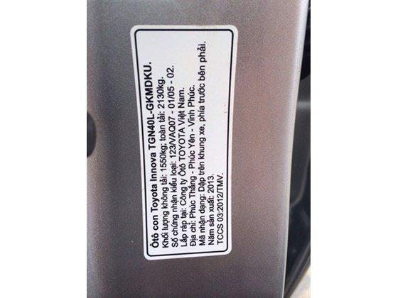Toyota Innova G, màu bạc ĐK T1/2014, mua mới 100%, gia đình sử dụng rất kỹ, mới 98% nhanh tay liên hệ-4